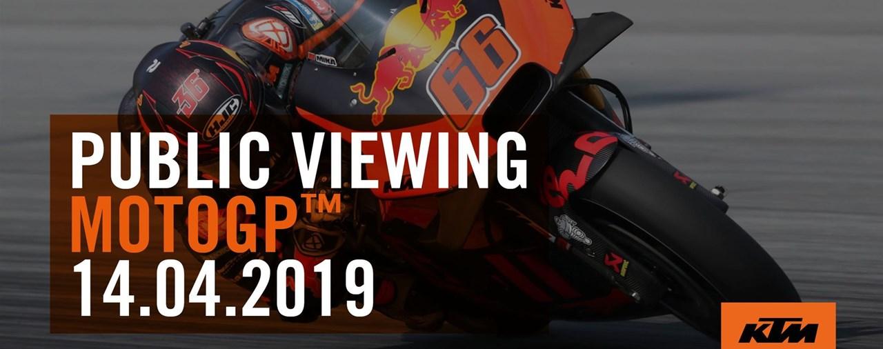 KTM MOTOGP Public Viewing in München 2019