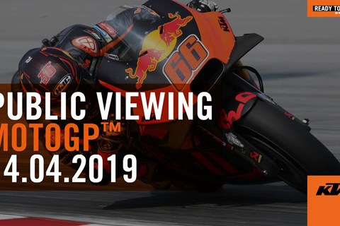 KTM MOTOGP Public Viewing in München 2019