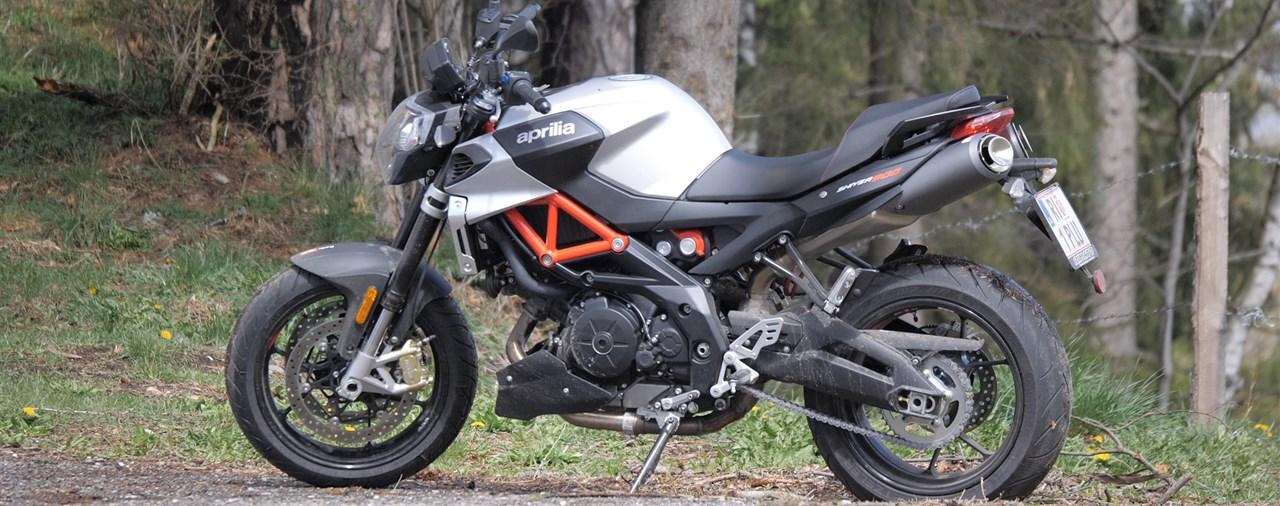 Aprilia Shiver 900 Test 2019