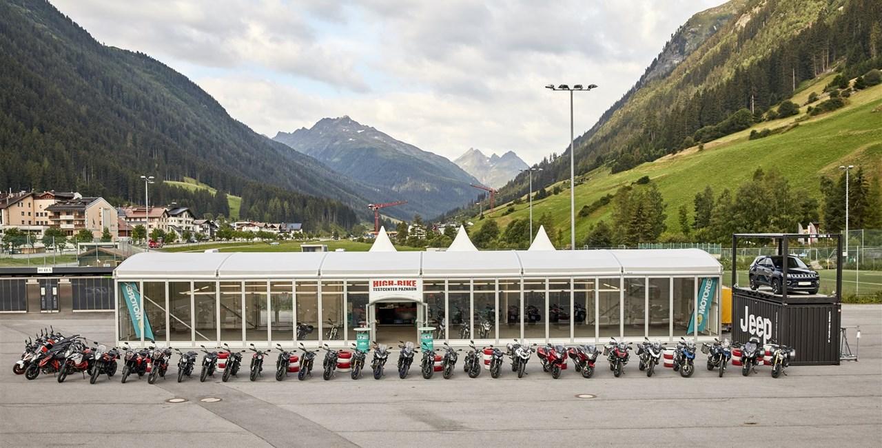 High-Bike Testcenter Paznaun startet die Motorrad-Saison 2019