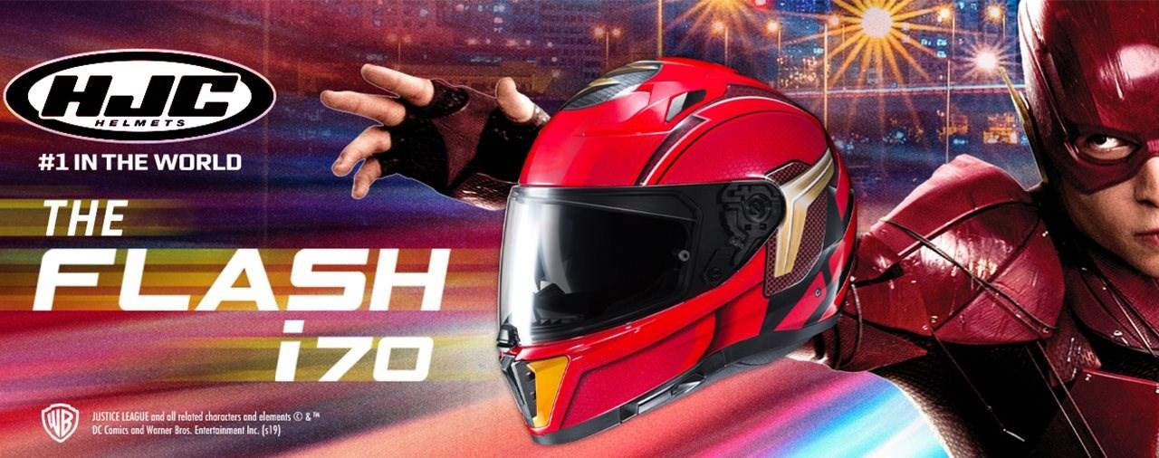 HJC i70 THE FLASH Design 2019