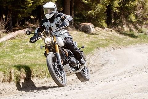 Reiseenduro Vergleichstest 2019 Triumph Scrambler 1200 XE