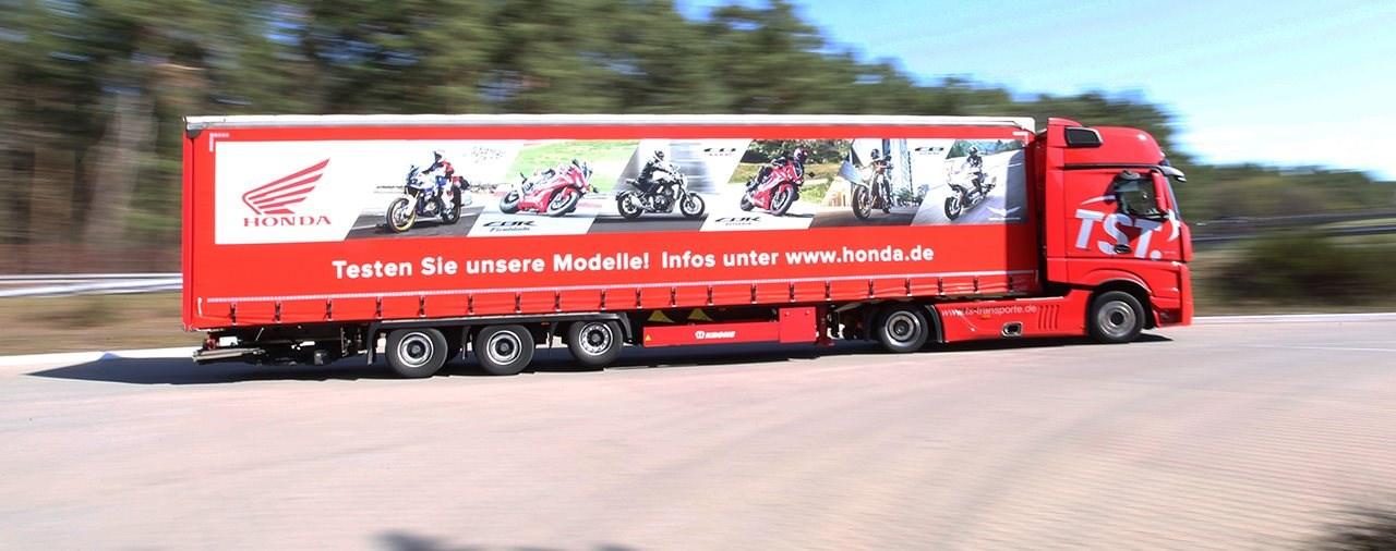 Honda Testride-Truck auf Deutschland-Tour 2019
