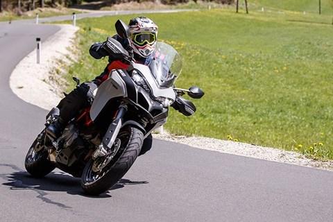 Reiseenduro Vergleichstest 2019 Ducati Multistrada 950 S