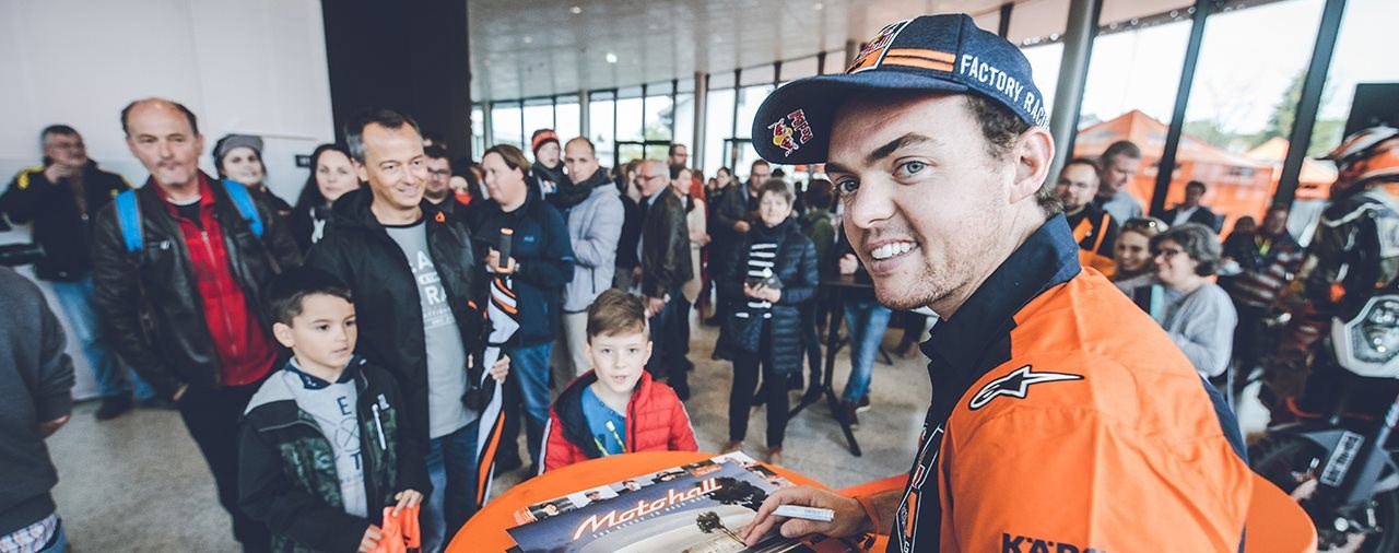 Eröffnungswochenende der KTM Motohall in Mattighofen