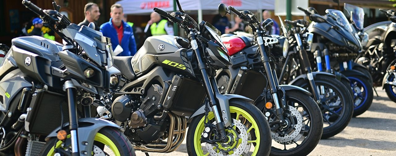 Yamaha Testtag am Exelberg - 11. Mai 2019