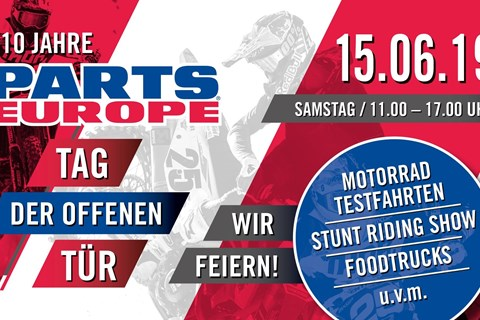 Parts Europe - Open House am 15. Juni 2019