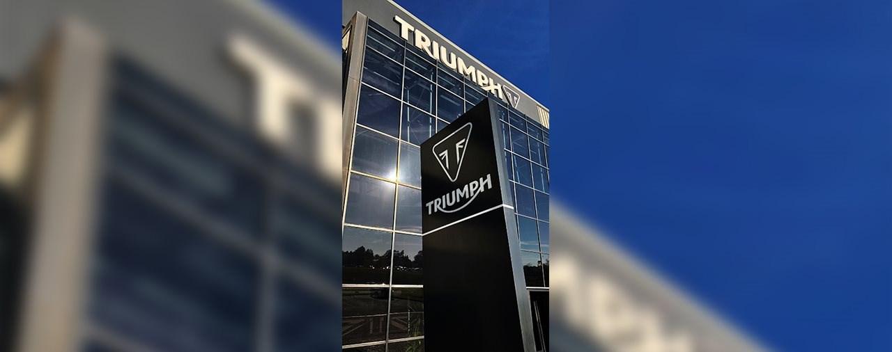 Triumph investiert in E-Mobilität: Projekt TE-1