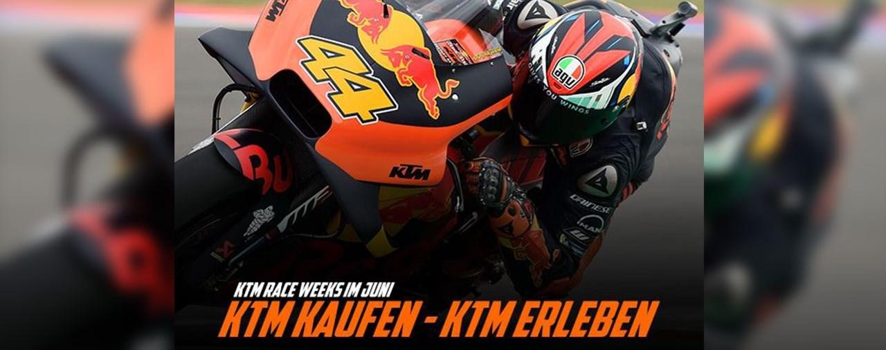 KTM Race Weeks im Juni 2019