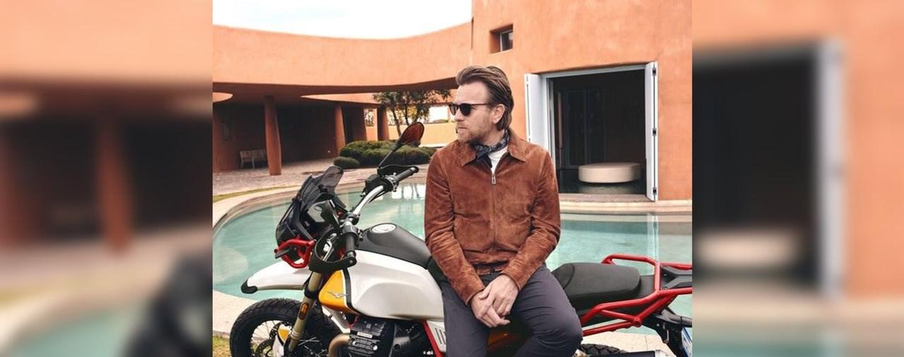 Ewan McGregor ist Botschafter der neuen Moto Guzzi V85 TT
