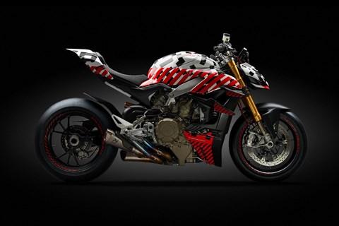 Ducati Streetfighter V4 2020 Prototyp beim Pikes Peak