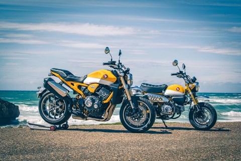 12 herrliche Umbauten der Honda CB1000R am Wheels&Waves Festival