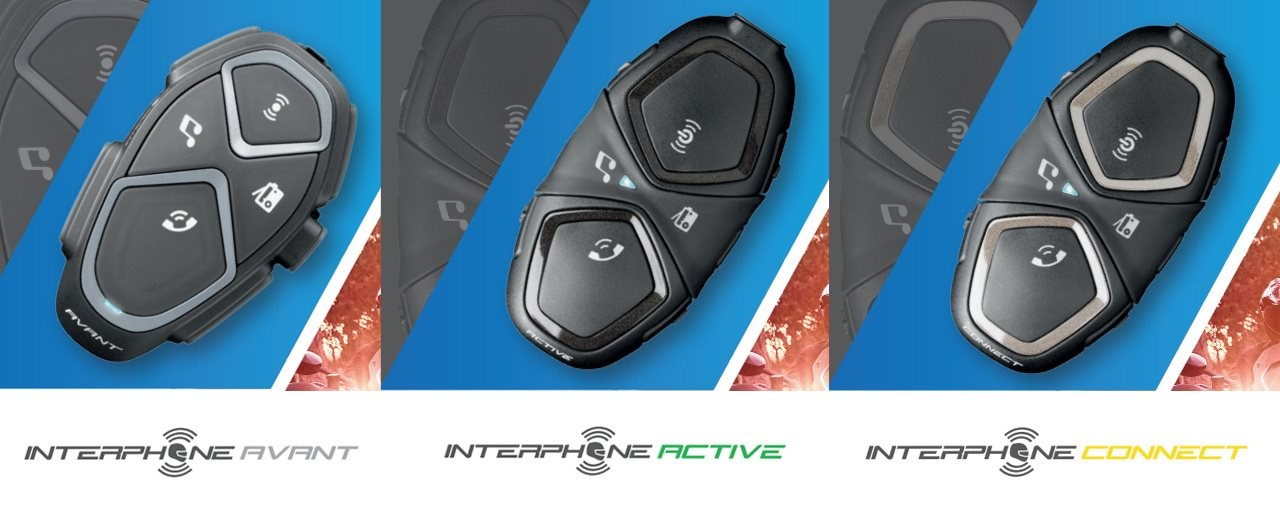 AVANT, ACTIVE und CONNECT - Neu aus dem Hause Interphone!