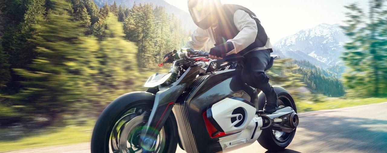Elektromotorrad BMW Vision DC Roadster