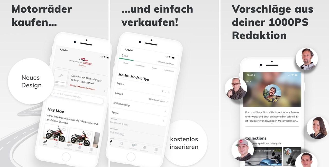 1000PS Marktplatz App 2019