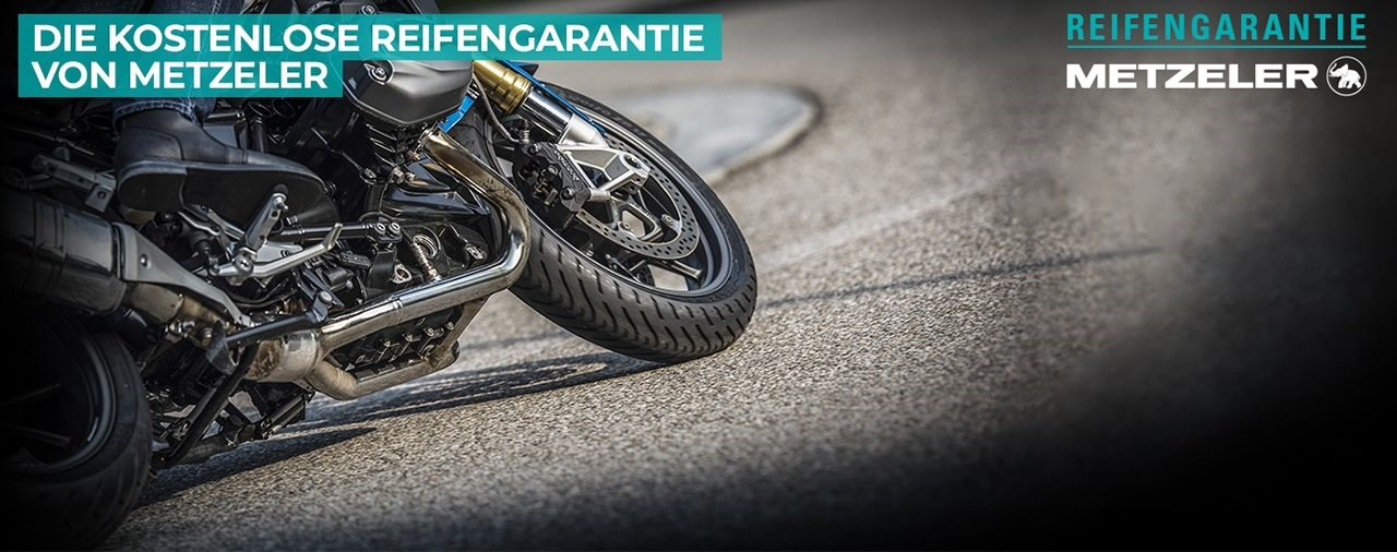 METZELER erweitert seine kostenlose Reifengarantie