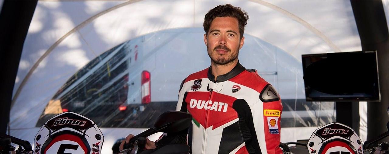 Ducati Testfahrer Carlin Dunne verunglückt am Pikes Peak