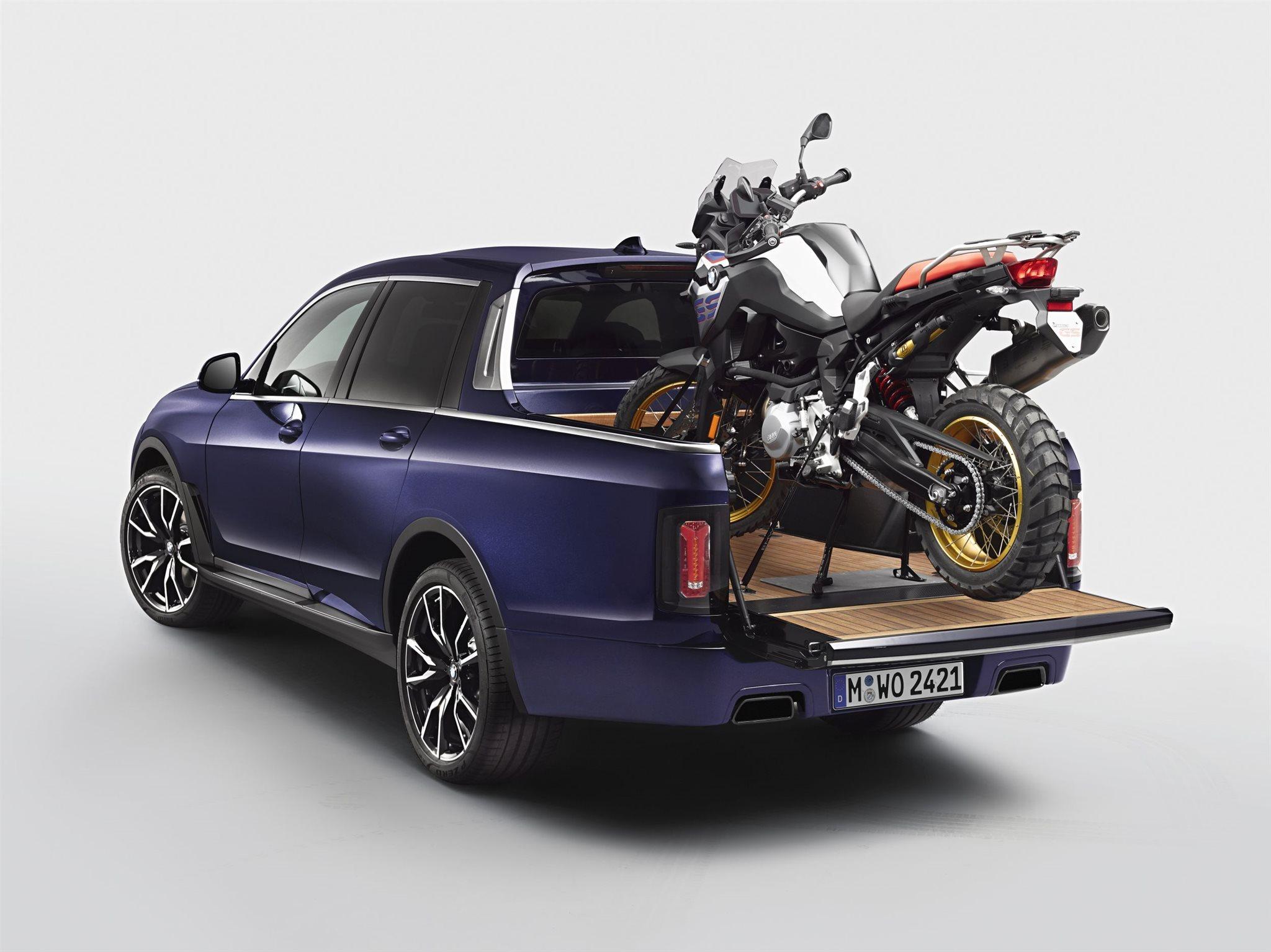 bmw pickup motorrad news. Black Bedroom Furniture Sets. Home Design Ideas