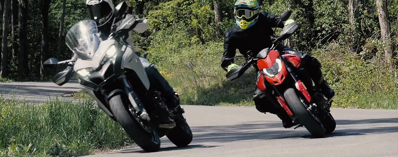 Ducati Hypermotard 950 vs. Multistrada 950 S Test 2019
