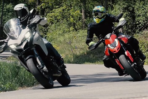 Ducati Hypermotard 950 vs. Multistrada 950 S Test 2019