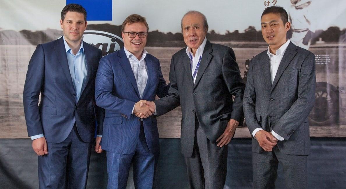 Bihr übernimmt den Vertrieb von Arai Helmen in Deutschland