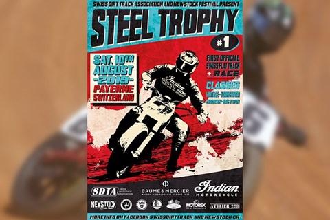 Steel Trophy #1: Flat Track Rennen in Payerne