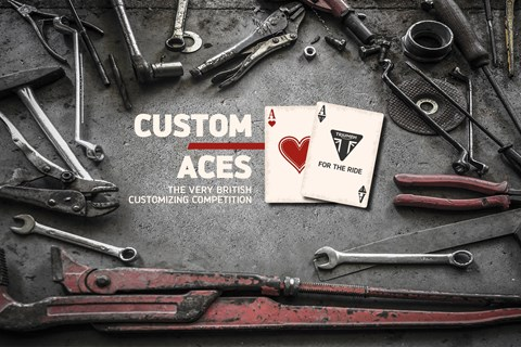 TRIUMPH Custom Aces 2019 - Customizing Wettbewerb by Triumph