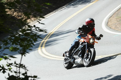 Harley-Davidson LiveWire Test