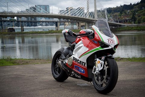 Ducati Panigale V4S Nicky Hayden Edition 001/001 wird versteigert