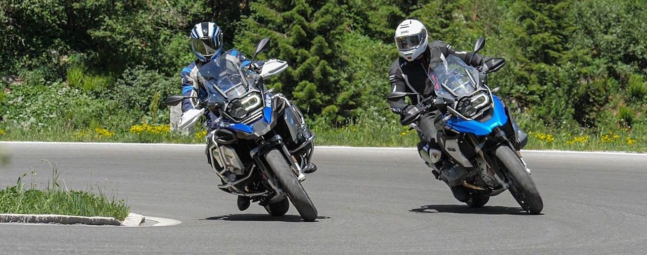 Alpenduell BMW R 1250 GS vs. R 1250 GS Adventure