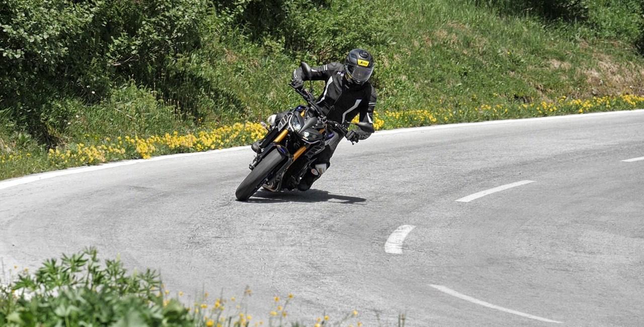 Yamaha MT-09 SP Test in den Alpen