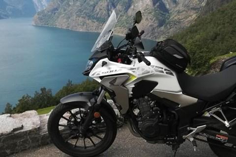 Honda CB500X 2019 Langstreckentest