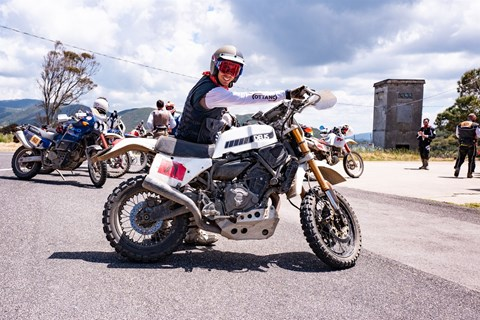 Yamaha XSR700 Enduro: Deus Swank Rally 700