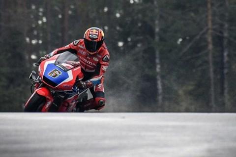 Erster Test von Finnlands neuer MotoGP Strecke