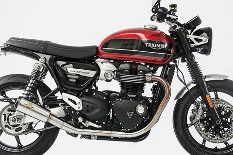 Zard Slip-On Auspuffanlagen für die Triumph Speed Twin