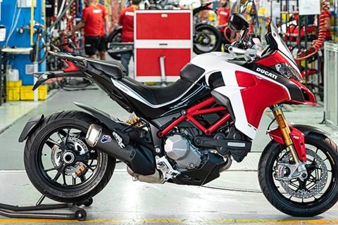Ducati baut die 100.000ste Multistrada