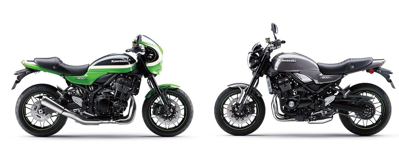 Kawasaki Z900RS und Z900RS Cafe Farben 2020