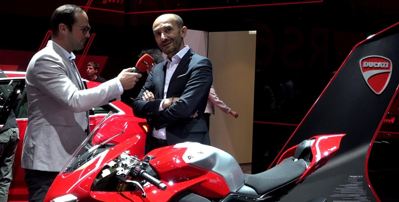Neun Fragen an Ducati Boss Claudio Domenicali auf der IAA 2019