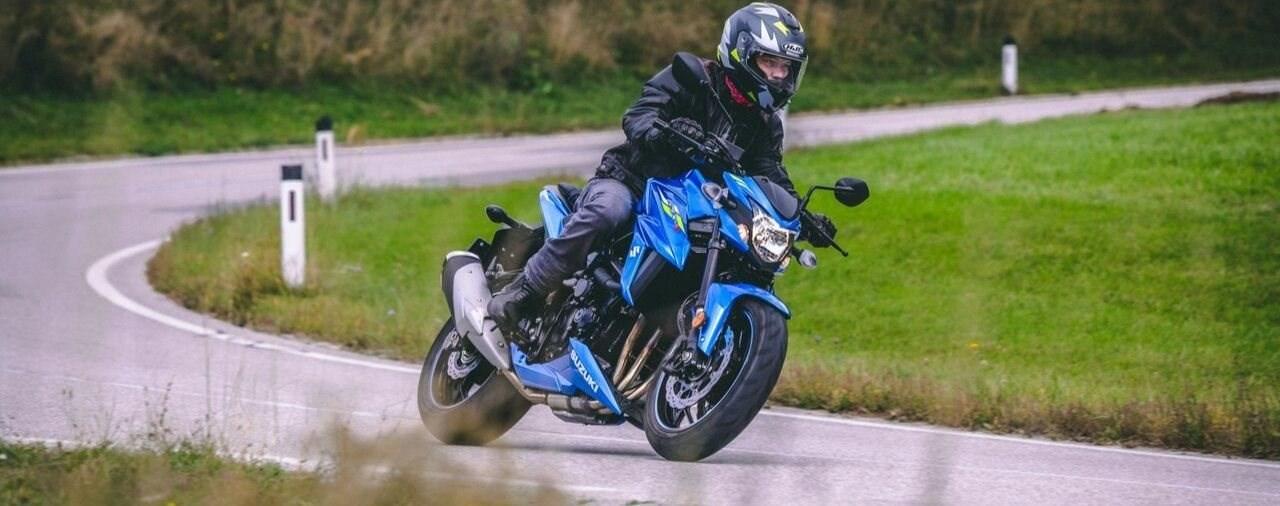 Suzuki GSX-S750 35 kW A2 Test 2019