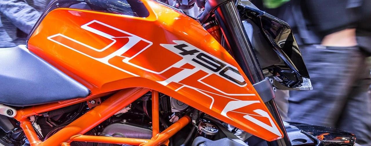 KTM entwickelt 490er-Zweizylinder Modelle