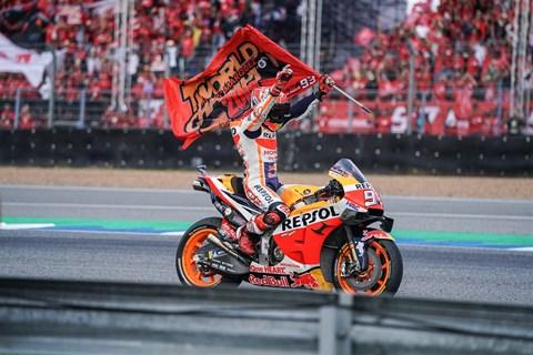 Marc Marquez gewinnt seinen 6. MotoGP Weltmeistertitel