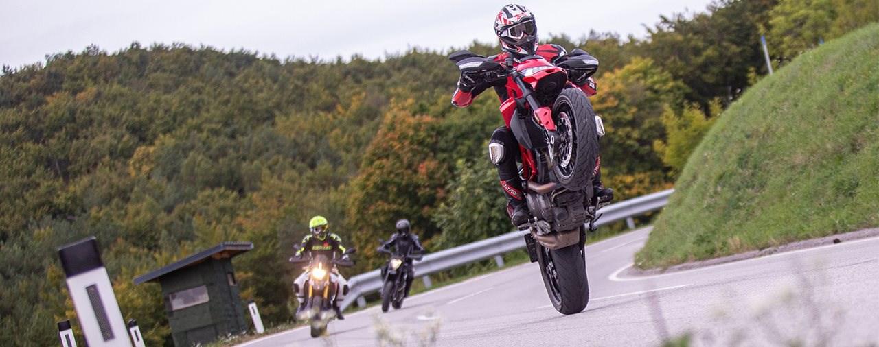 Supermoto Vergleich 2019 - KTM vs. Ducati vs. Aprilia