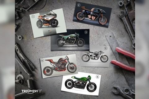 Triumph Custom Aces Finalisten - jetzt abstimmen!