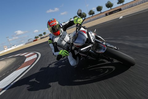 Triumph Street Triple RS 2020 Test