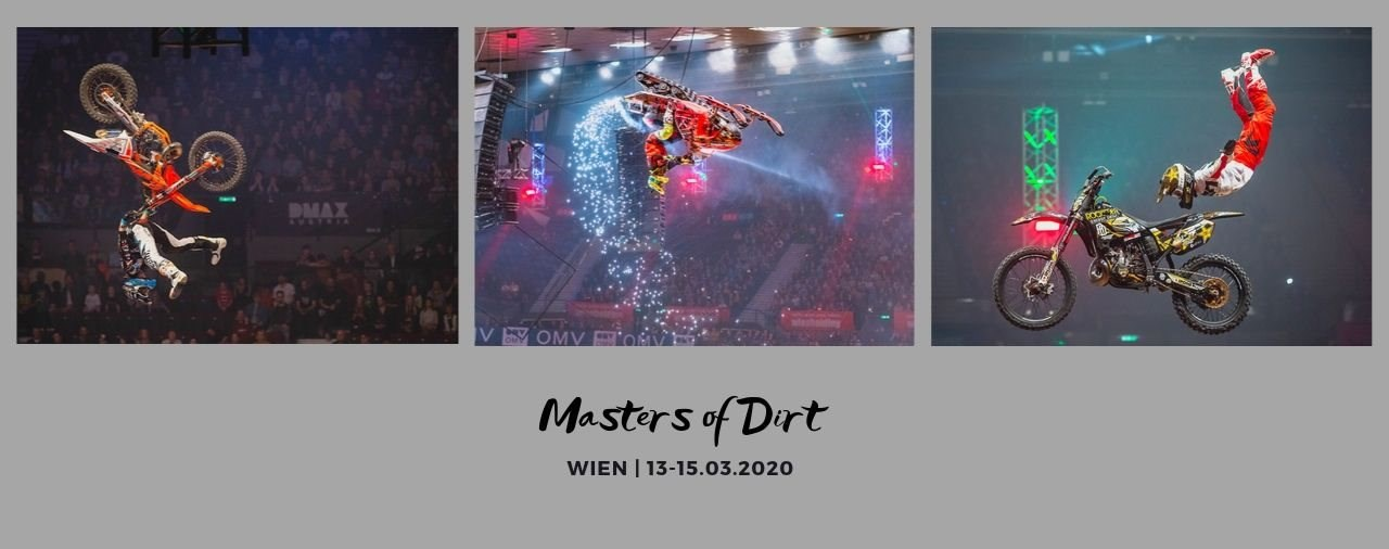 Masters of Dirt Wien 2020: Freestyle Evolution Tour