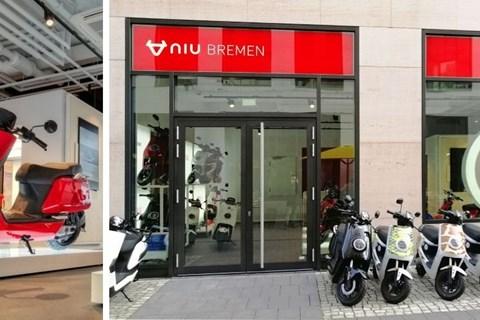 NIU eröffnet den ersten Flagship-Store in Deutschland
