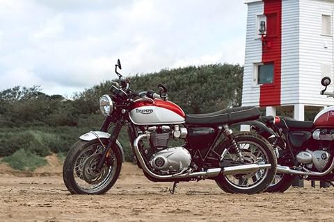 Triumph Bonneville T100 & T120 Bud Ekins Special Edition