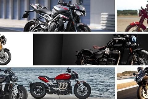 Triumph Motorrad Neuheiten 2020
