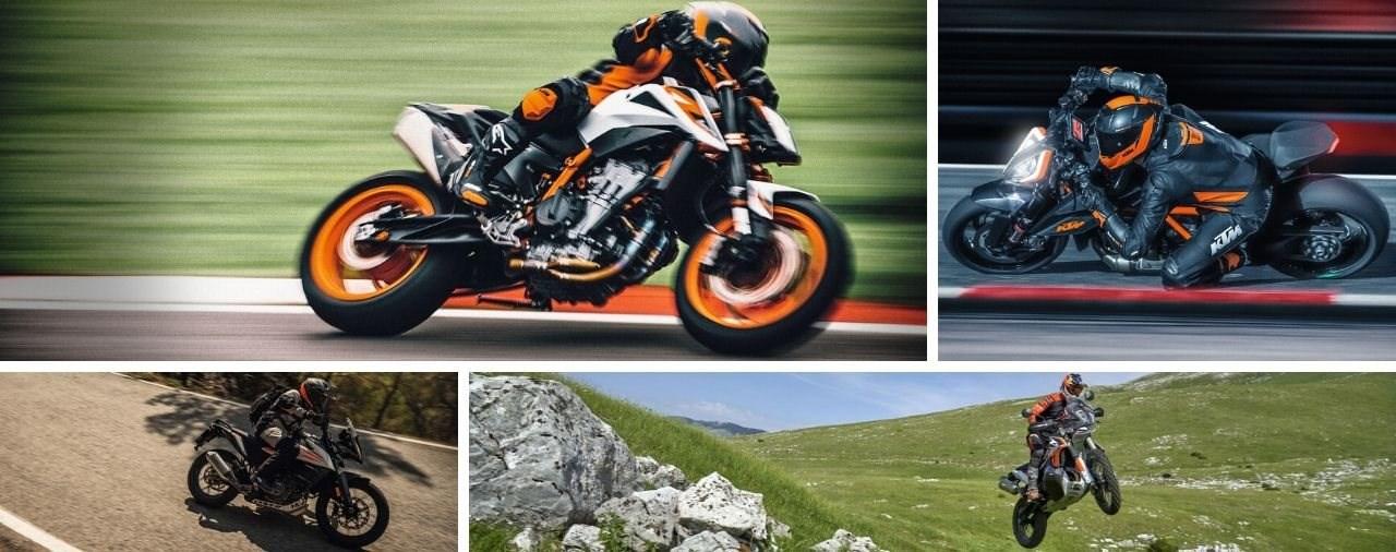 KTM Motorrad Neuheiten 2020