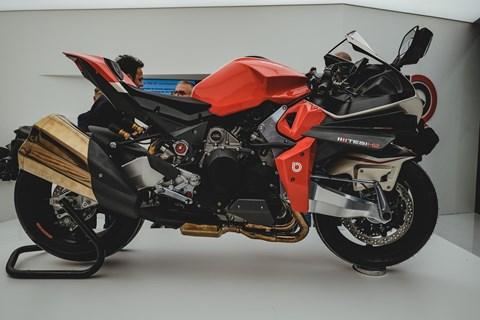 Bimota-Kawasaki Tesi H2 2020